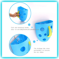 cute hanging plastic storage container for baby toys