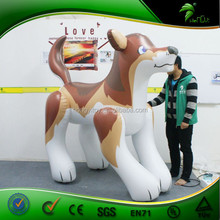 2015 wonderful giant rubber inflatable 3d farm animals