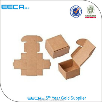 Printed Cake Boxes Shipping Carton Brown Corrugated Box