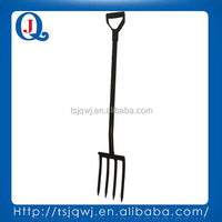 Garden and farm digging fork JQ115sp with steel handle
