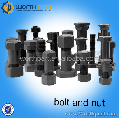 bolts and nut for sprocket anti-theft bolts and nuts J931640