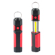 Factory made ABS multifunctional dry battery operated COB LED work light