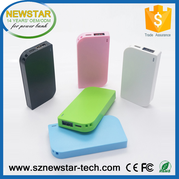 Hot selling portable super slim 1950mah smartphone power bank charger