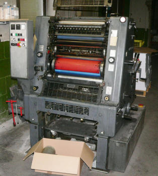 Heidelberg Gto 52 Printing Machinery
