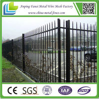 2m length durable keep steel angle iron fence posts with various color for UK