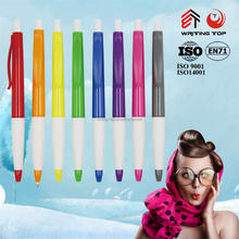 Cheap plastic promo pen stationery