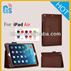 Classic Series Leather Flip Folio Stand Case Cover For iPad Air For iPad 5 5th