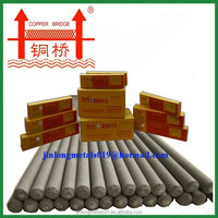 Factory price welding electrode 7018 6013 with copper bridge brand