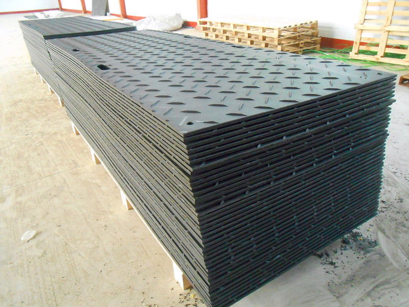 Heavy duty matting fro larger access vehicles/construction track road mat/composite crane mats