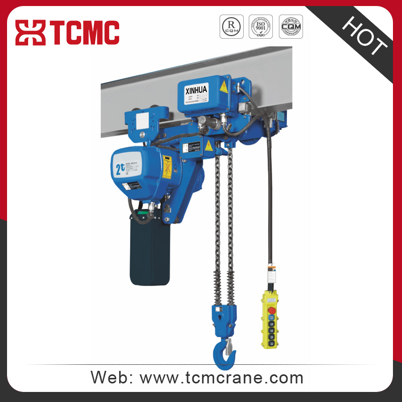Xin hua super-low lifting loop electric chain hoist