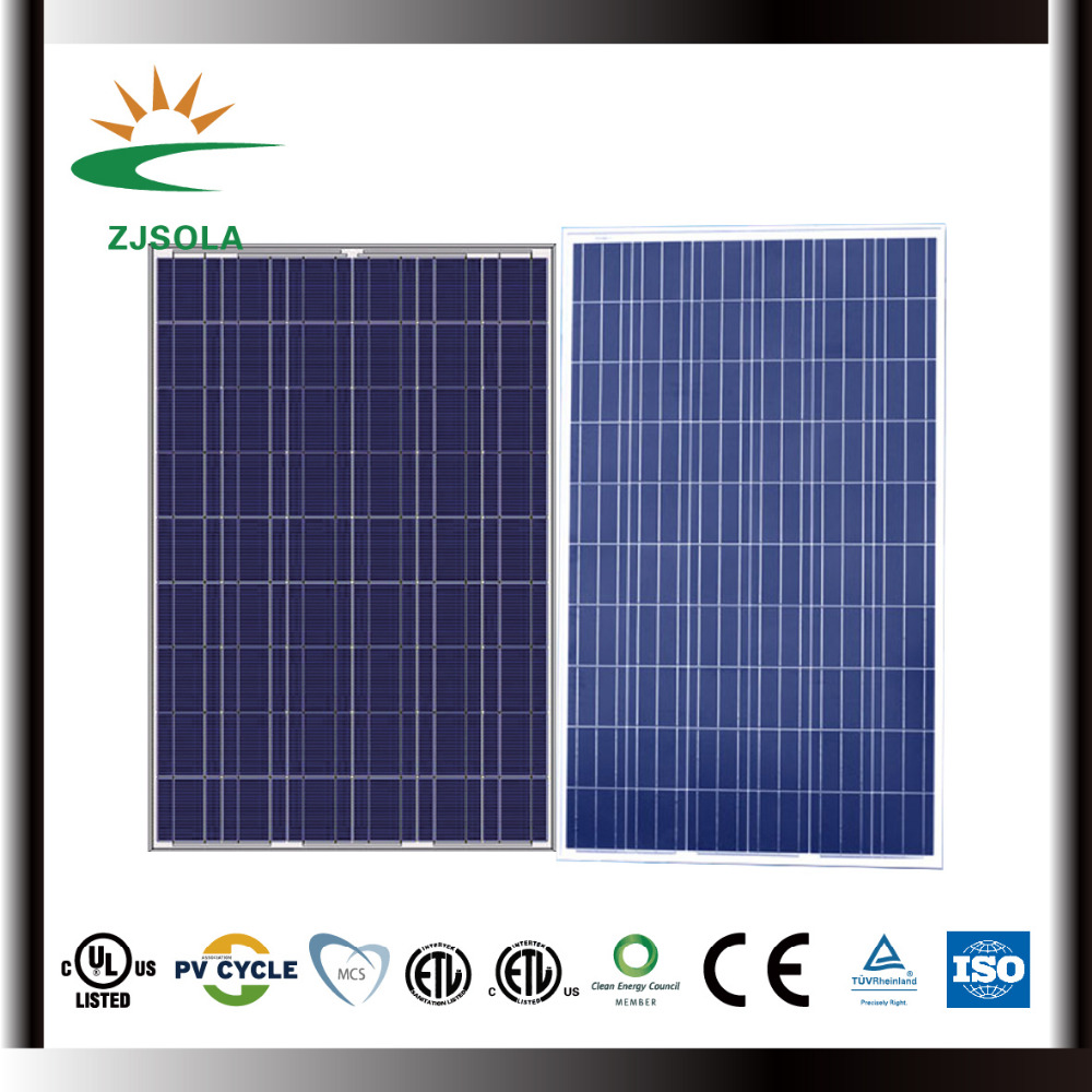 ZJSOLA 300W poly solar panel Photovoltaic 300W Solar Panels Price From China