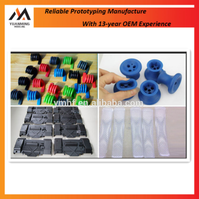custom cheap and soft plastic silicone rubber parts
