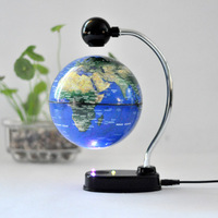 magnetic floating 6 inch globe