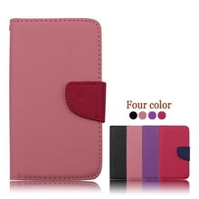 Manufacturer Cell Phone PU Flip Case for huawei W1,for huawei W1 cover leather