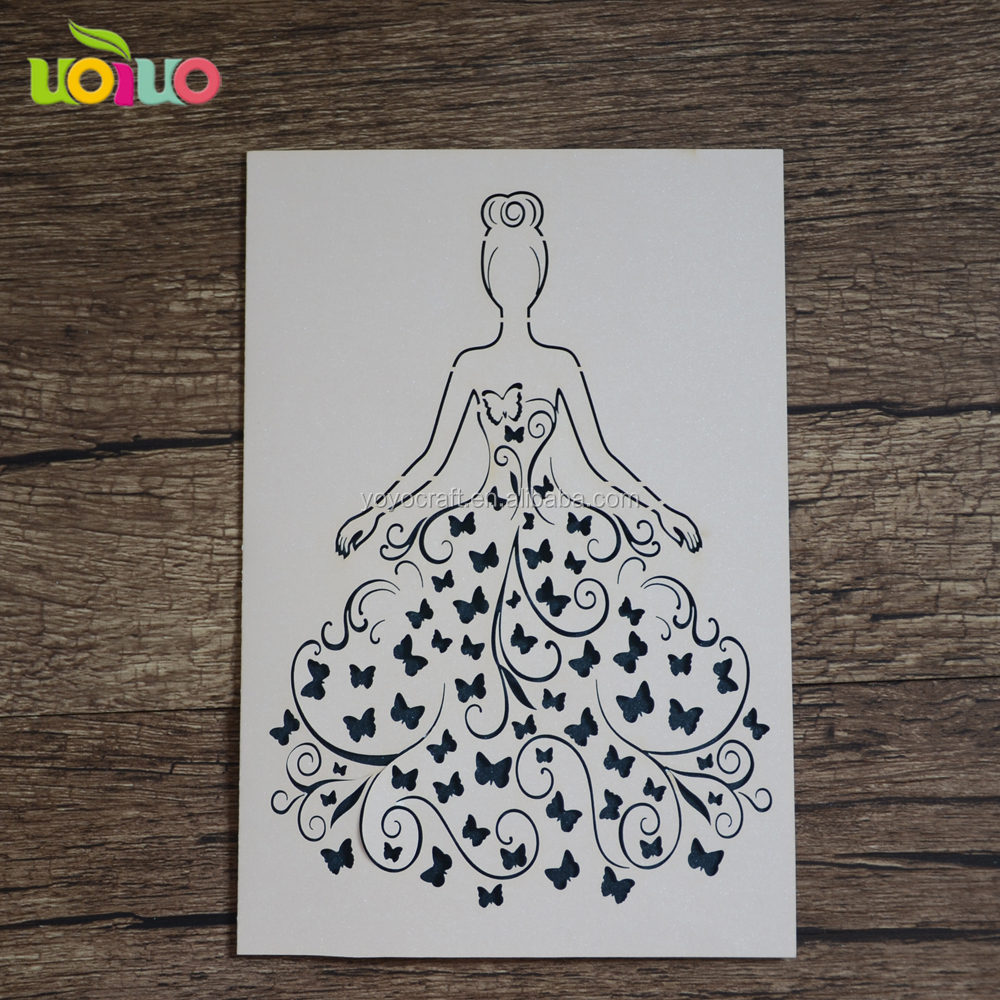 Hot sale elegant design white pearl paper teacher day card