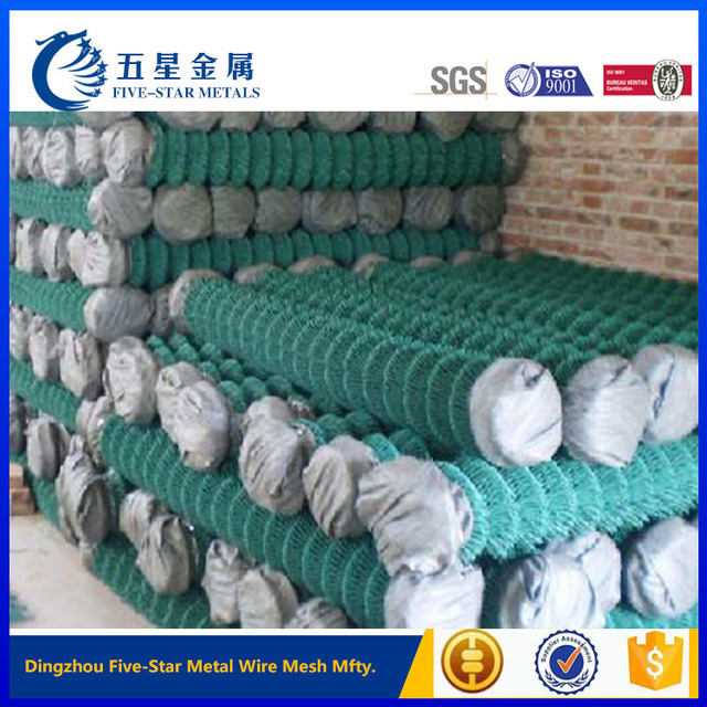 cheap price pvc coated chain link fence for sale factory outdoor