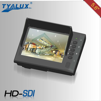 "5.6"" tester monitor with HD-SDI for CCTV installation,on-site demonstration and testing"