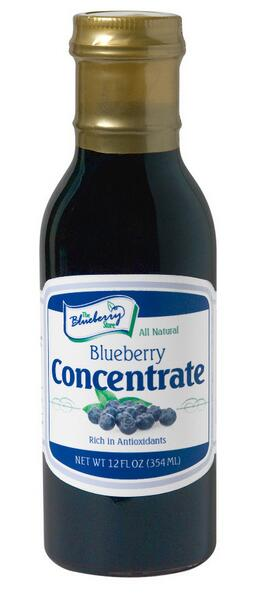 High quality blueberry jiuce concentrate