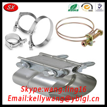 Dongguan Factory Customzied Stainless Steel Beam Bar Pole Clamp