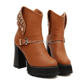 newest designs popular shoes high quality boots 2017 PMS3923