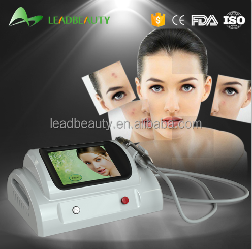 Advanced beauty medical handheld mini fractional rf microneedle device