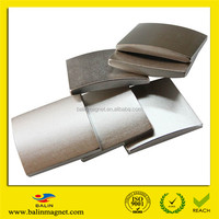 Strong high quality rare earth sintered permanent curved neodymium magnet