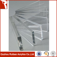 rpoa factory direct sale high light transmittance clear price acrylic plastic sheet