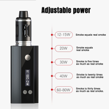 Chinese factory wholesale 80W adjustable high power usb charging electronic cigarette