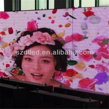 high resolution smd indoor full color p6 led flat panel displays
