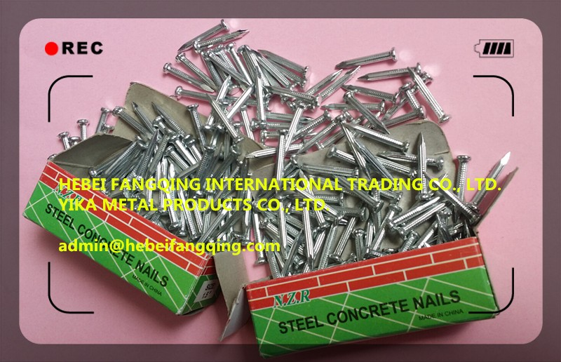 HOT SELLING HIGH QUALITY STEEL NAIL / CONCRETE NAIL