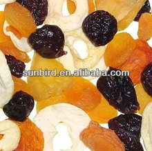 HACCP healthy/cheap mixed dried fruit/fruit/dried mango /dried apricots /raisin /dates /goji berry with weet food