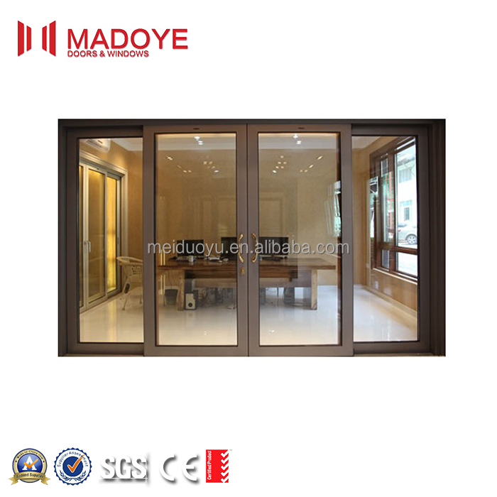 China <strong>aluminium</strong> low-e sliding glass bedroom doors