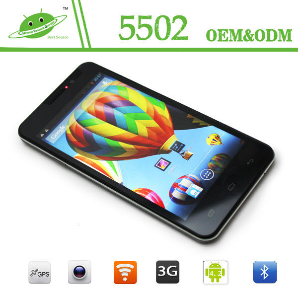 Pear phone price 5 inch n9500 android 4.2.1 8mp camera mobile phone
