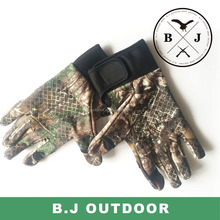New design hunting gloves camo gloves waterproof hunting gloves from BJ Outdoor