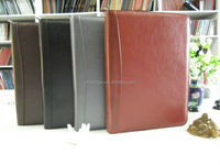 Manufacturer Gift Leather Daily Planner Diary Notebook