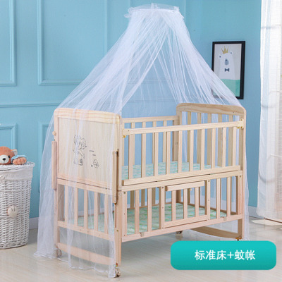 2020 Hot Selling Baby Furniture Wooden Baby Bed High Qualtity Baby Bed Crib