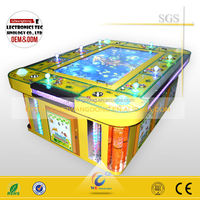 2016 3D Video coin operated hunt machine touch fishing game , fish hunter game machine , fishing arcade game