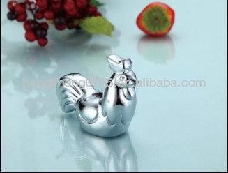 Chinese supplier good price cute rabbit style metal chopstick rest
