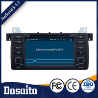 10.2 Inch 2 din Microphone control panel RK3188 Quad Core CPU 1.6GHZ Android car gps dvd player for BMW 2002 to 2006 E46