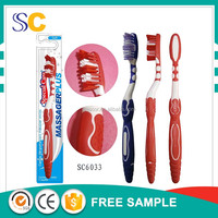 Exquisite patent plastic toothbrush, mini adult toothbrush for home use