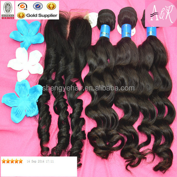 Alibaba Wholesale 100% Virgin Human Virgin Malaysian Wet And Wavy Hair Weave Loose Wave Closure Weave Virgin Hair