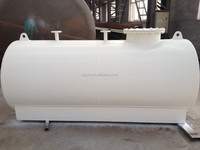 Carbon steel or stainless steel double-layer oil tank with good price