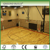 Solid wood Basketball court maple wood flooring