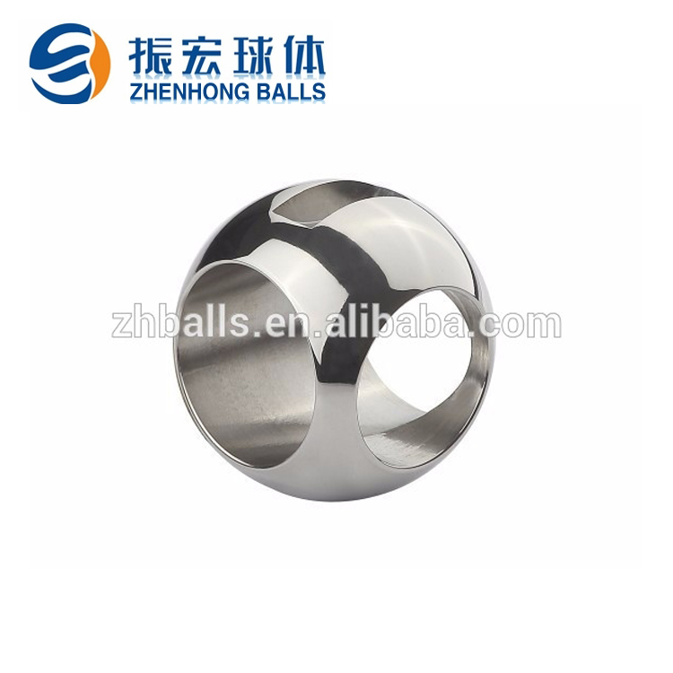 Bright high polished surface stainless steel hollow ball