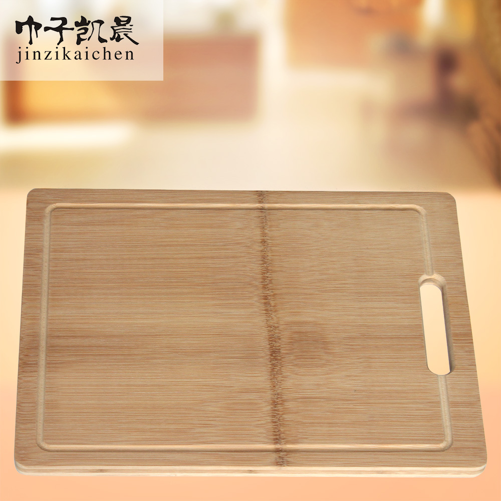 Natural high quality oiled wooden cutting board bamboo chopping board