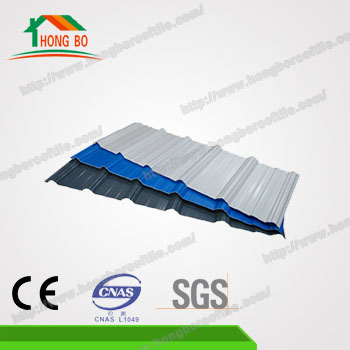 Fashional Superior Heat Insulated Performance roof plastic sheet