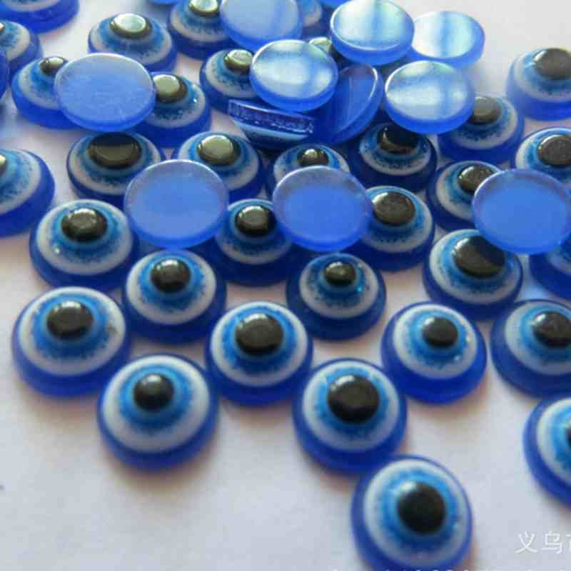 china fashion jewelry new product resin evil eye beads wholesale
