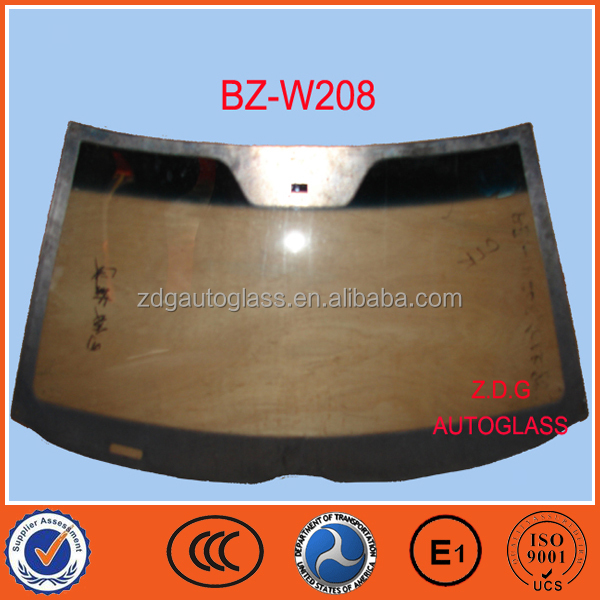 auto laminated safety glass W208