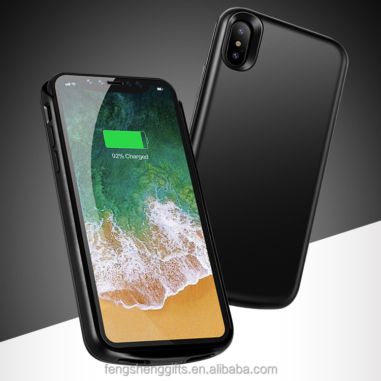 High Quality Portable Extended Battery 3800mah Power Bank Case for Iphone X Charger Battery Case for Iphone X