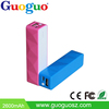 Hot!!!!!!Wholesale mini colorful 2000mAh power increasing portable sex power bank portable battery for cellphone
